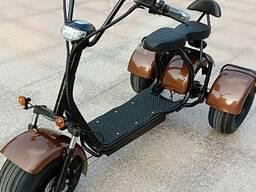 3-колавы citycoco 2000w 20ah электрычны самакат