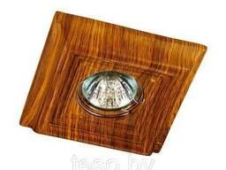 370090 SPOT NT15 139 светлое дерево Встраиваемый светильник IP20 GX5.3 50W 12V Pattern