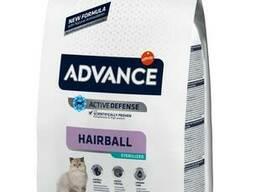 Advance Hairball Sterilized - сухой корм для стерилизованных кошек для вывода шерсти. ..