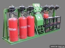 Агрегат гидравлических испытаний и дегазации баллонов АГДБ-2 - фото 1