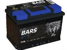 """Аккумулятор """"Bars Silver"""" 6СТ-75 (Kainar)"""