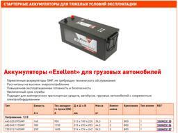 Аккумуляторы и аксессуары для погрузочной техники