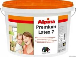 Alpina exper premiumLatex 7 шелковисто-матовая высоконагруж