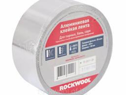 Алюминевая клейкая лента rockwool 50,100мм