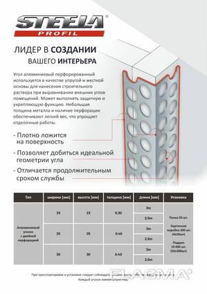 Алюминиевые уголки с двойной перфорацией/Польша