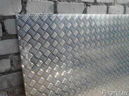 Алюминий листовой рифленый толщина 2мм и 1мм рифл. Резка