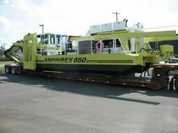 Земснаряды из Канады Amphibex AE650E.