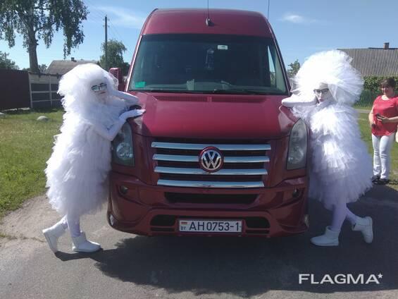 Аренда автобусов для свадьбы