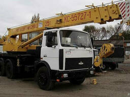 Аренда автокрана 25 тонн 28 метров Солигорск