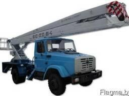 Аренда Автовышка 22метра АГП-22; 18м, 28м, 32м