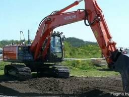 Аренда гусеничного экскаватора Hitachi 210 1, 3 м3 ковш