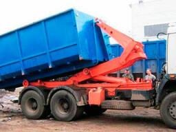 Аренда контейнера для вывоза строительного мусора в Борисове