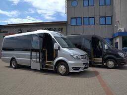 Аренда новых микроавтобусов , минивенов 22 места