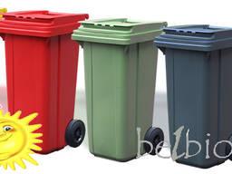 Аренда мусорных контейнеров л, 1100л)