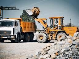 Доставка ( продажа) песка, гравия, земли, строительных грузов, ПГС. Вывоз мусора.