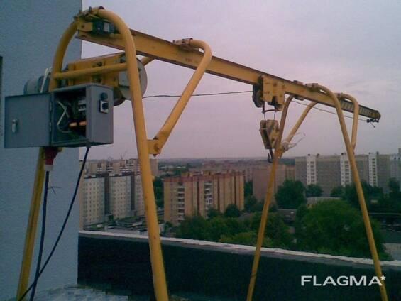 Аренда/ прокат строительного крана и инструмента/ оборудован