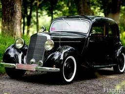 Аренда ретро автомобиль Mercedes-Benz V170 1938г.в