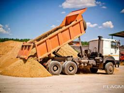 Аренда самосвалов Man, МАЗ, 10-40 тонн, вывоз мусора