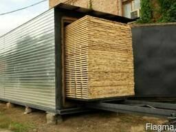 Аренда сушилки для пиломатериалов из древесины