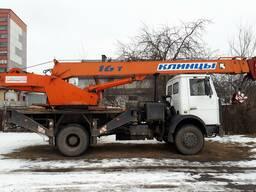 Аренда, услуги автокрана 16 тн. , 18 м.