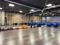 Аренда зала для фитнеса с инвентарём, почасовая