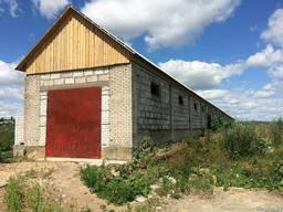 Аренда здания с территорией под производство, склад