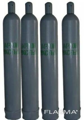 Аргон газообразный сжатый (40л, 6,5 м3)