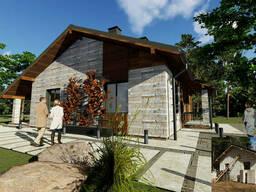 Дизайн фасада, проект модернизации фасада в 3D