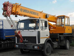 Автокран 16 тонн в аренду по сменам/часам