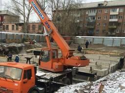 "Автокран ""Клинцы"" г/п 25т. , в/с 28 м."