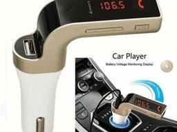 Автомобильный FM модулятор трансмиттер Carg7
