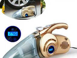 Автомобильный пылесос 4 в 1 Car Vacuum Cleaner DS12V