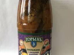 """Баклажаны с овощами жареные ТМ """" Горынь"""""""
