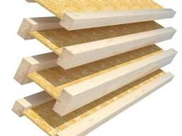 Балка деревянная БД-ЕС - 400 (Полка - 60х40). Длина от 6 м