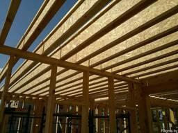 Балка деревянная БД-ЕС - 450 (Полка -95х45). Длина до 6 м.