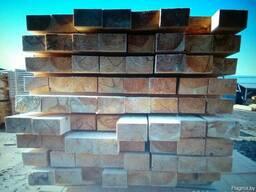 Балки перекрытия деревянные. 6, 7, 8 метров.