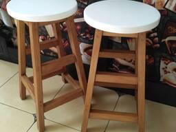 Барный стул ЭКОДИЗАЙН, массив, новый
