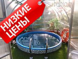 Каркасный пластиковый морозостойкий бассейн купель