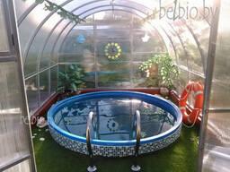 Бассейн дачный пластиковый 6000 литров