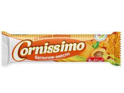 """Батончик-мюсли специализированный """"Cornissimo"""" со вкусом дыни для диетического и специализ"""