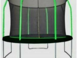 Батут MiSoon inside 366-12ft-Basic с внутренней сеткой и лестницей