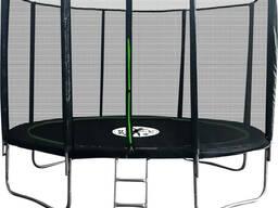 Батут ProFit Premium Black 312 см PRO с внешней защитной сеткой и лестницей