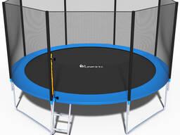 Батут складной Funfit 4,04 м. с защитной сеткой и лестницей