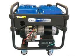 Бензогенератор SGG-5000 E ( 5 кВт / 1ф)