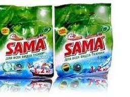 Бесфосфатный стиральный порошок ТМ «SAMA»