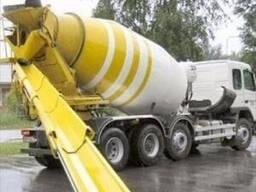 Бетон, доставка бетона, фундаментные работы, бетононасос