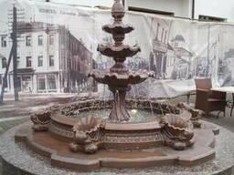 Бетонный фонтан
