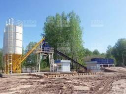 Стационарный бетонный завод Лента-72