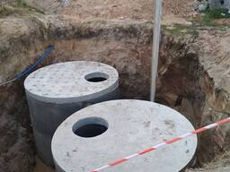 Бетонные кольца для колодцев, канализации