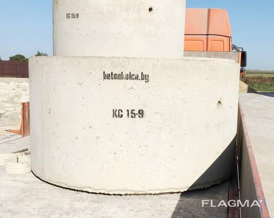 Кольца бетонные для канализации и колодцев от производителя в Минске.